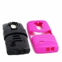 LG G Flex 2 Hybrid Silicone Case Cover Stand Pink