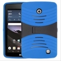 LG G Pad F 7.0 Hybrid Silicone Case Cover Stand Blue