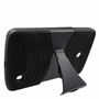 LG G Pad F 8.0 Hybrid Silicone Case Cover Stand Black