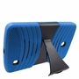 LG G Pad F 8.0 Hybrid Silicone Case Cover Stand Blue