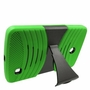 LG G Pad F 8.0 Hybrid Silicone Case Cover Stand Green