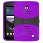 LG G Pad F 8.0 Hybrid Silicone Case Cover Stand Purple