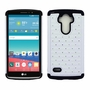 LG G Stylo LS770 Diamond Hybrid Rugged Case Cover White