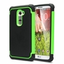 LG G2 / D802 Plus Shockproof Rugged Box Case Cover Matte Green