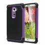 LG G2 / D802 Plus Shockproof Rugged Box Case Cover Matte Purple