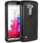 LG G3 D850 Plus Shockproof Rugged Box Case Cover Matte Black
