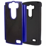 LG G3 D850 Plus Shockproof Rugged Box Case Cover Matte Blue