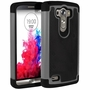 LG G3 D850 Plus Shockproof Rugged Box Case Cover Matte Gray