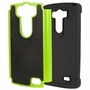 LG G3 D850 Plus Shockproof Rugged Box Case Cover Matte Green
