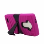 LG G4 Hybrid Silicone Case Cover Stand Pink