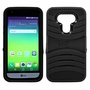 LG G5 Hybrid Silicone Case Cover Stand Black