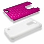 LG K7 Tribute 5 Diamond Hybrid Rugged Case Cover Pink