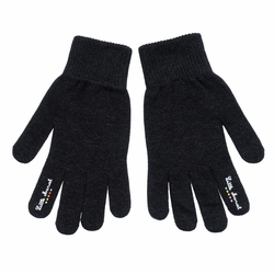 Little Marcel ? Black ? Gloves for Cell Phone Use Iphone Galaxy Htc - New