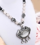 [Longevity Lock] Set of 2 Elegant Costume Necklace Statement Necklace