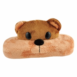 Lovely 3D Creative Cartoon Sunglasses/Eyeglasses Case For Kids ( Brown Bear )