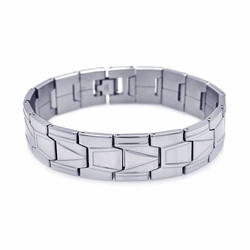 Men's Stainless Steel Bracelet 16mm 8 Inch - SOD