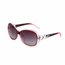 New Fashion Full Frame Beautiful  Sunglasses for Women Red