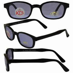 Original KD's Biker Sunglasses with Blue Lenses