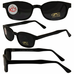 Original KD's Biker Sunglasses with Smoke Lenses