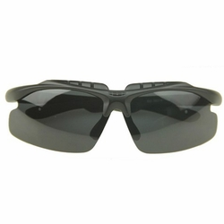 Outdoor Activities-use Cool Sunglasses Sun Protection Black & Gray Eyewear