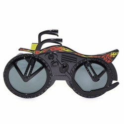 Party Supplies Motor Bike Shaped Sunglasses Fashion Eyewear With Dark Lens