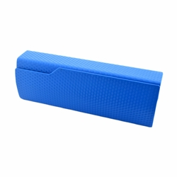 Perfect Sunglasses/Eyeglasses Case Hard Clamshell Case For Men & Women Blue