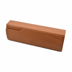 Perfect Sunglasses/Eyeglasses Case Hard Clamshell Case For Men & Women Chocolate