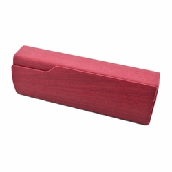 Perfect Sunglasses/Eyeglasses Case Hard Clamshell Case For Men & Women Claret A
