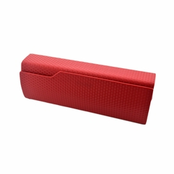Perfect Sunglasses/Eyeglasses Case Hard Clamshell Case For Men & Women Red