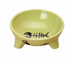 Pet Feeding Supplies Ceramic Water Bowls/Raised Bowls/Cat or Dog Food Bowl(#06)