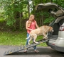 Pet Gear Portable Tri-Fold Pet Ramp Reflective, Extra Wide