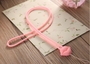 Phone Strape The Bell Cell Phone Chain Camera Hand Rope Pink