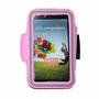 [PINK] SPORTY Armband+ Key Holder for SAMSUNG S3/S4/4.7-5 inch smart phone