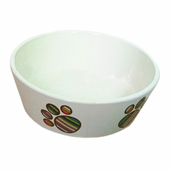 Porcelain Pets Puppy Food Water Bowls Dogs Bowls Cats Pet Supplies - Feet