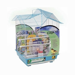 Prevue Hendryx Double Roof Bird House Kit Ideal For Parakeets, Canaries and other small birds