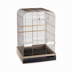 Prevue Hendryx Pet Products Madison Durable Bird Cage With 2 Cups And 2 Perches, Color - Putty