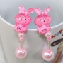 Princess Earrings Fancy Earrings No pierced Ear Clip Christmas Earclip Rabbit