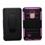 Samsung G Note Edge/SN915 Armor Belt Clip Holster Case Cover Pink