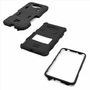 Samsung Galaxy Grand Prime SM-G530 Impact Silicone Case Dual Layer with Stand Black