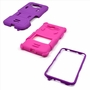 Samsung Galaxy Grand Prime SM-G530 Impact Silicone Case Dual Layer with Stand Purple