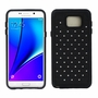 Samsung Galaxy Note 5 Diamond Hybrid Rugged Case Cover Black
