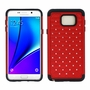 Samsung Galaxy Note 5 Diamond Hybrid Rugged Case Cover Red