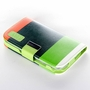 Samsung Galaxy S3 Hybrid Wallet Leather Case Flip Cover Green
