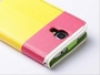 Samsung Galaxy S4 Hybrid Wallet Leather Case Flip Cover Pink