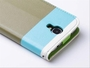 Samsung Galaxy S4 Hybrid Wallet Leather Case Flip Cover Teal