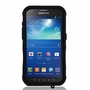 Samsung Galaxy S5 Active / G870 Impact Silicone Case Dual Layer with Stand Black
