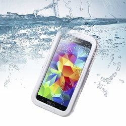 Samsung Galaxy S5/S4/S3 Full Body Sealed Waterproof Snowproof Shockproof Dirtproof Case White