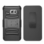 Samsung Galaxy S6 Edge Plus Armor Belt Clip Holster Case Cover Black