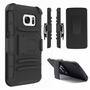 Samsung Galaxy S7 Armor Belt Clip Holster Case Cover Black