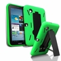 Samsung Galaxy Tab 2 7.0 Hybrid Silicone Case Cover Stand Green